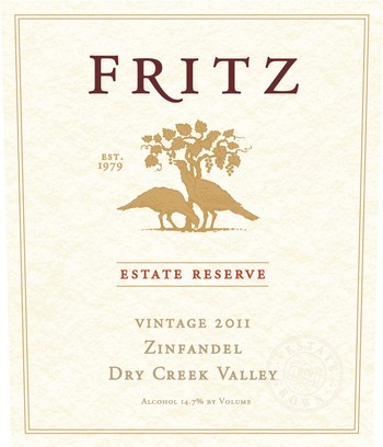 2011 Estate Reserve Zinfandel