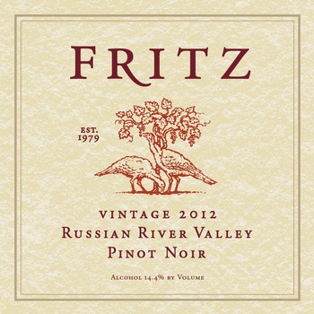 2012 Fritz Russian River Valley Pinot Noir Image