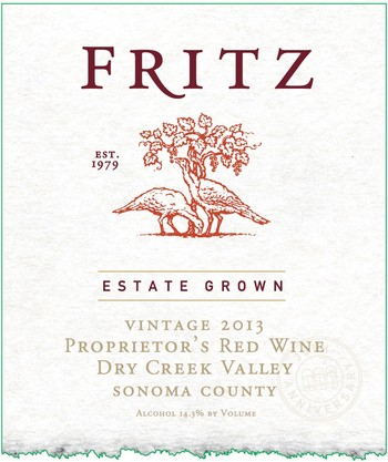 Fritz Estate Proprietor's Red