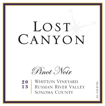 2013 Lost Canyon Whitton Vineyard Pinot Noir