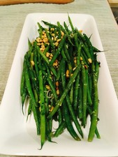 Green Beans with Gremolata