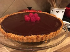 Late Harvest Zinfandel Chocolate Tart