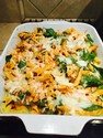 Natalia's Sweet Potato Baked Penne with Spinach and Love