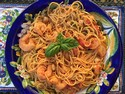 Snappy Seafood Pasta